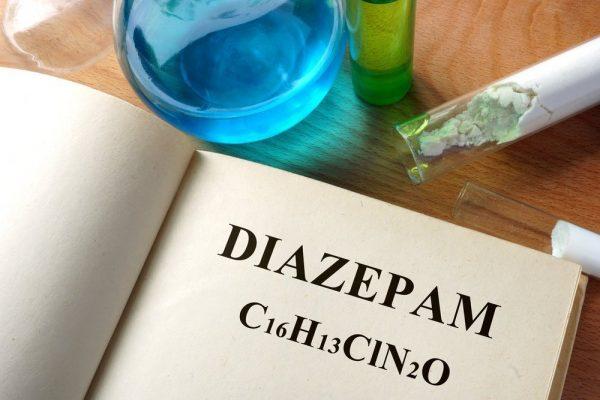 تركيب كيميائي لديازيبام